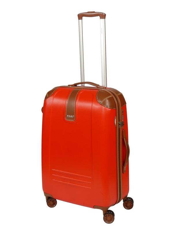 Dielle 155 walizka medio rosso trolley