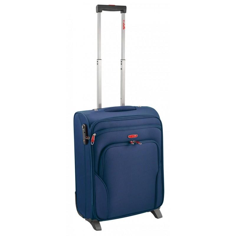 Dielle 530 walizka cabin blu trolley