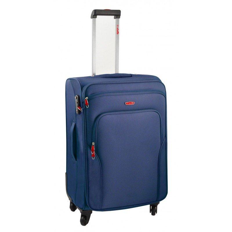 Dielle 530 walizka medio blu trolley