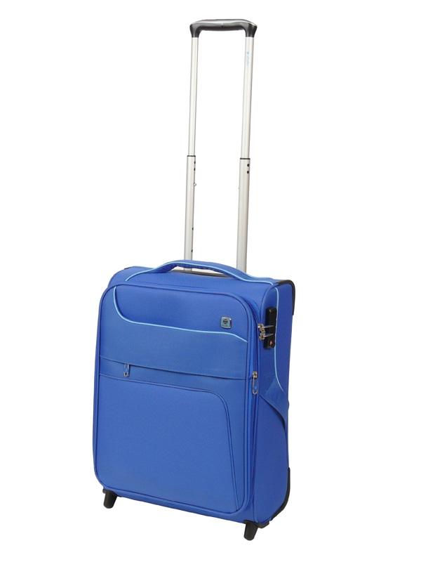 Dielle 610 walizka cabin blu trolley