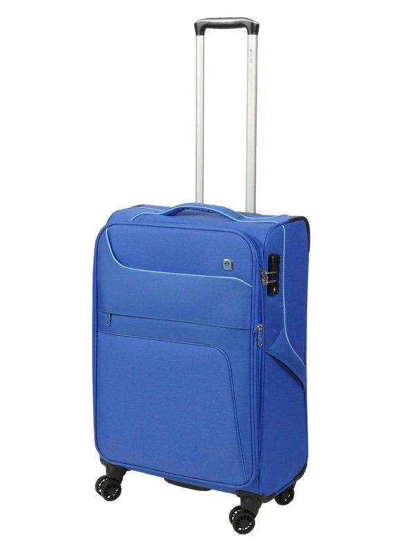 Dielle 610 walizka medio blu trolley