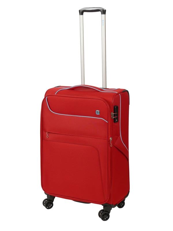 Dielle 610 walizka medio rosso trolley