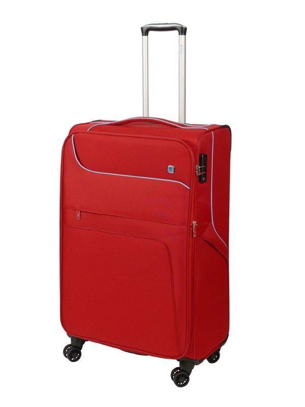 Dielle 610 walizka big rosso trolley
