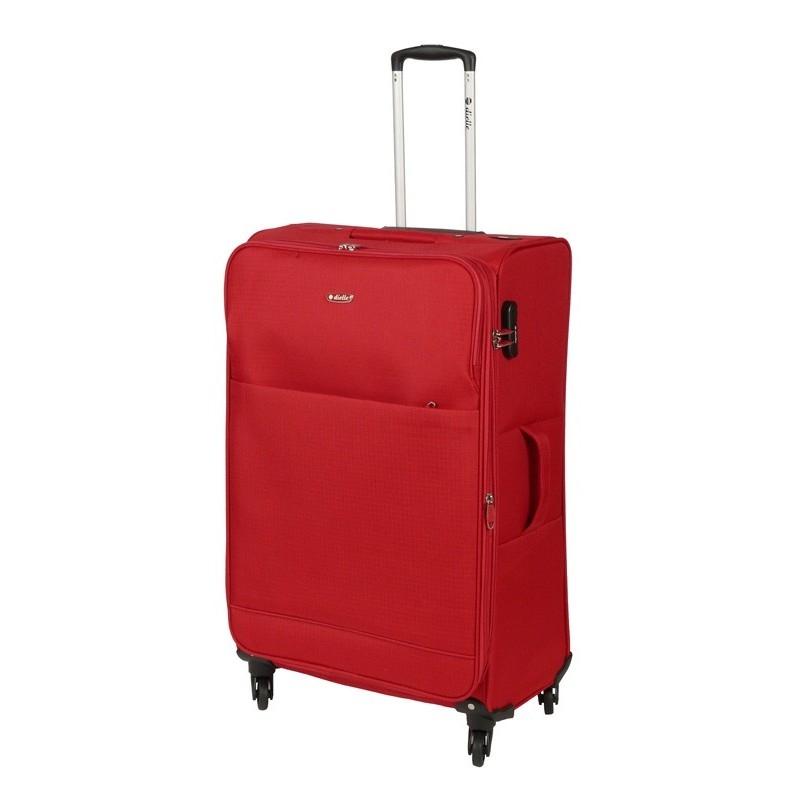 Dielle 785 walizka big rosso trolley