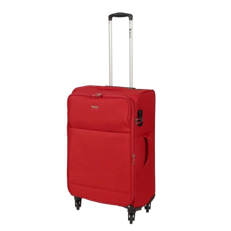 Dielle 785 walizka medio rosso trolley