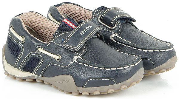 GEOX Snake Moc A Navy sneakers