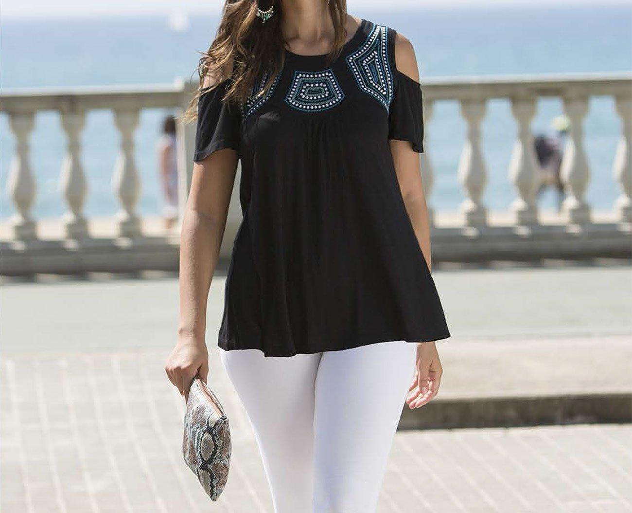 Massana E185205 bluzka negro