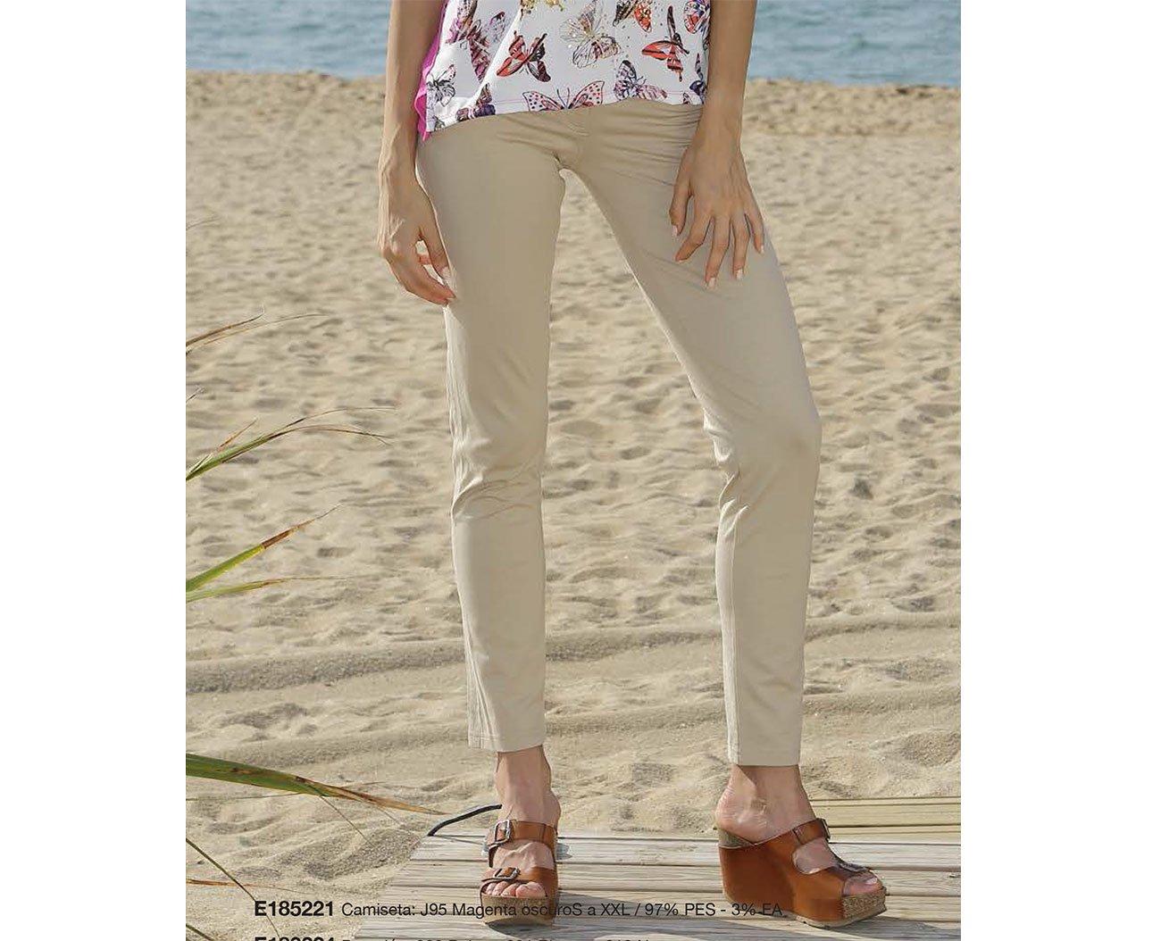 Massana MSN E183224 spodnie beige