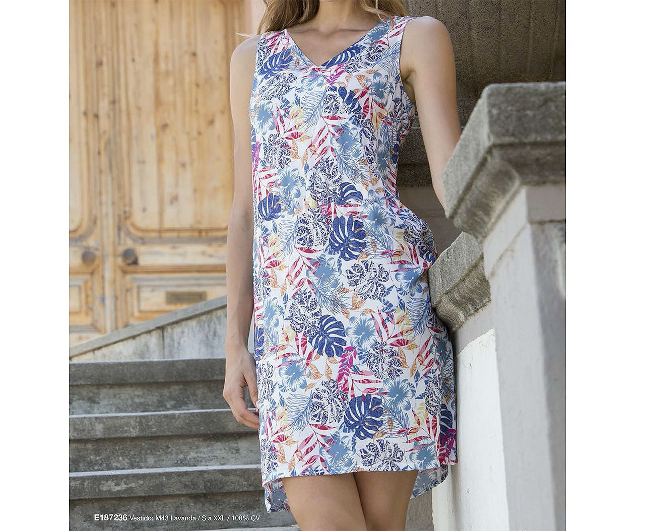 Massana MSN E187236 sukienka lavanda