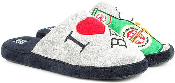 GIOSEPPO 75666 gray obuwie domowe
