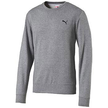 PUMA ESS CREW SWEAT TR MEDIUM GRAY HEATHER 831858 BLUZA