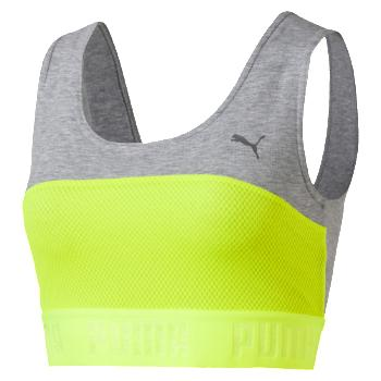 Puma TRANSITION Crop Top W Safety Yellow