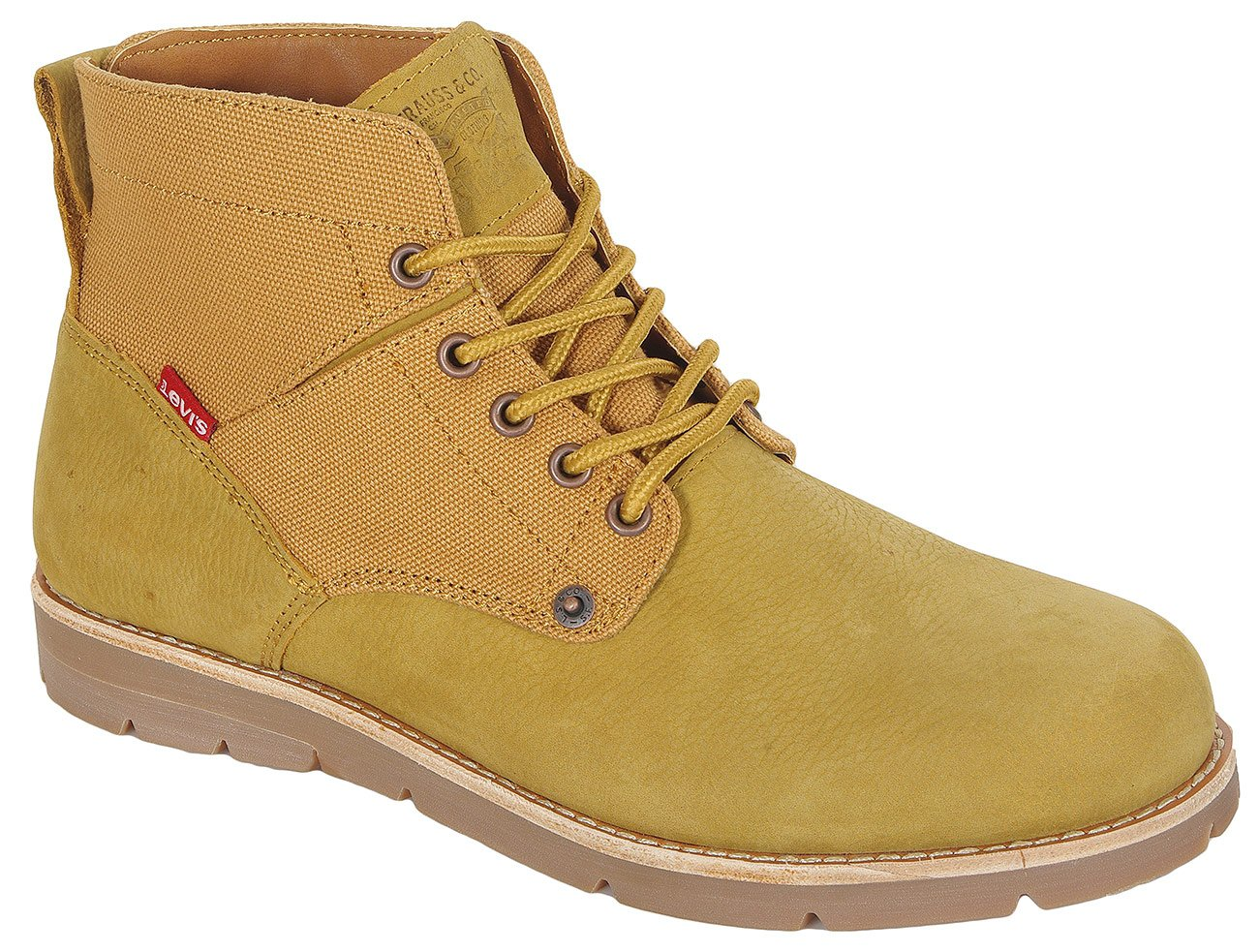 Levis Jax trzewiki medium yellow