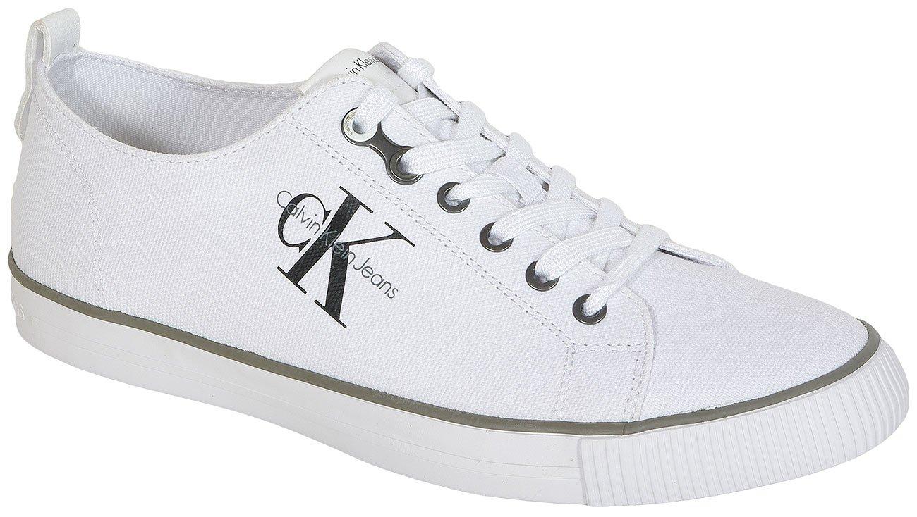 Calvin Klein Jeans Arnold Canvas White sneakers