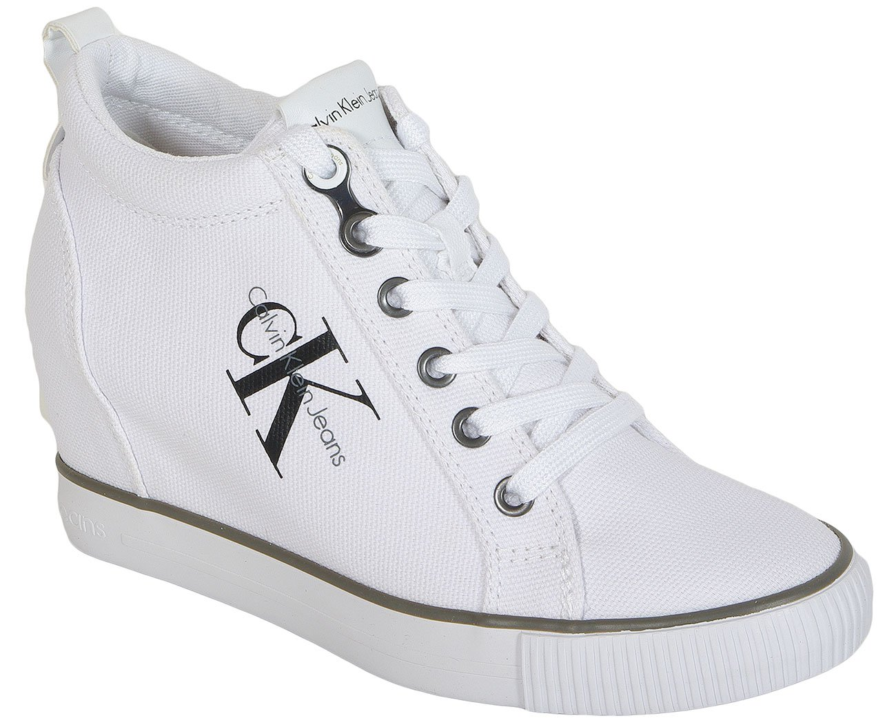 Calvin Klein Jeans Ritzy Canvas White sneakers