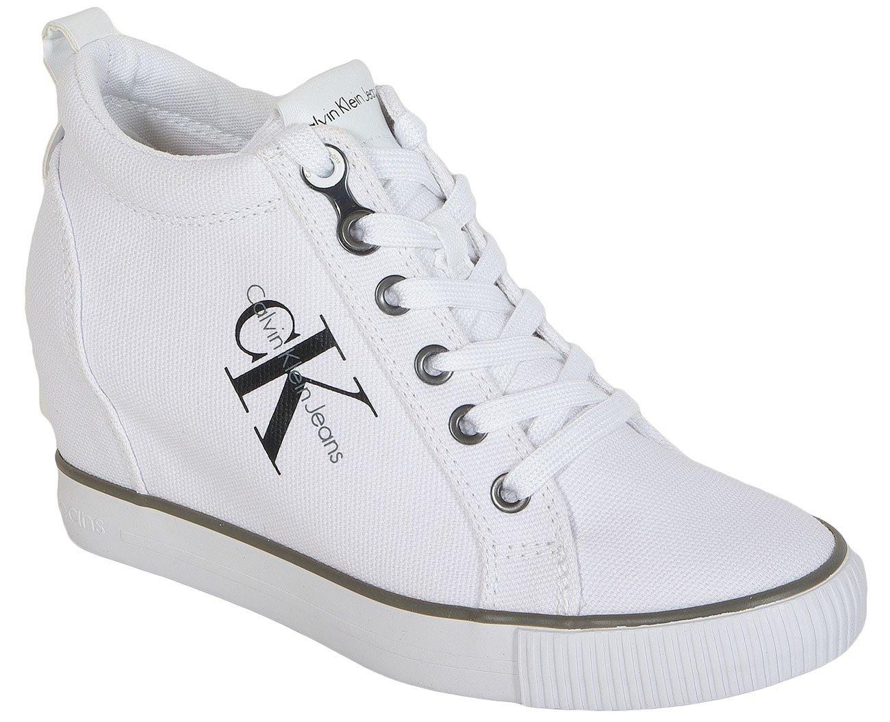 Calvin Klein Jeans Ritzy Canvas White sneakers