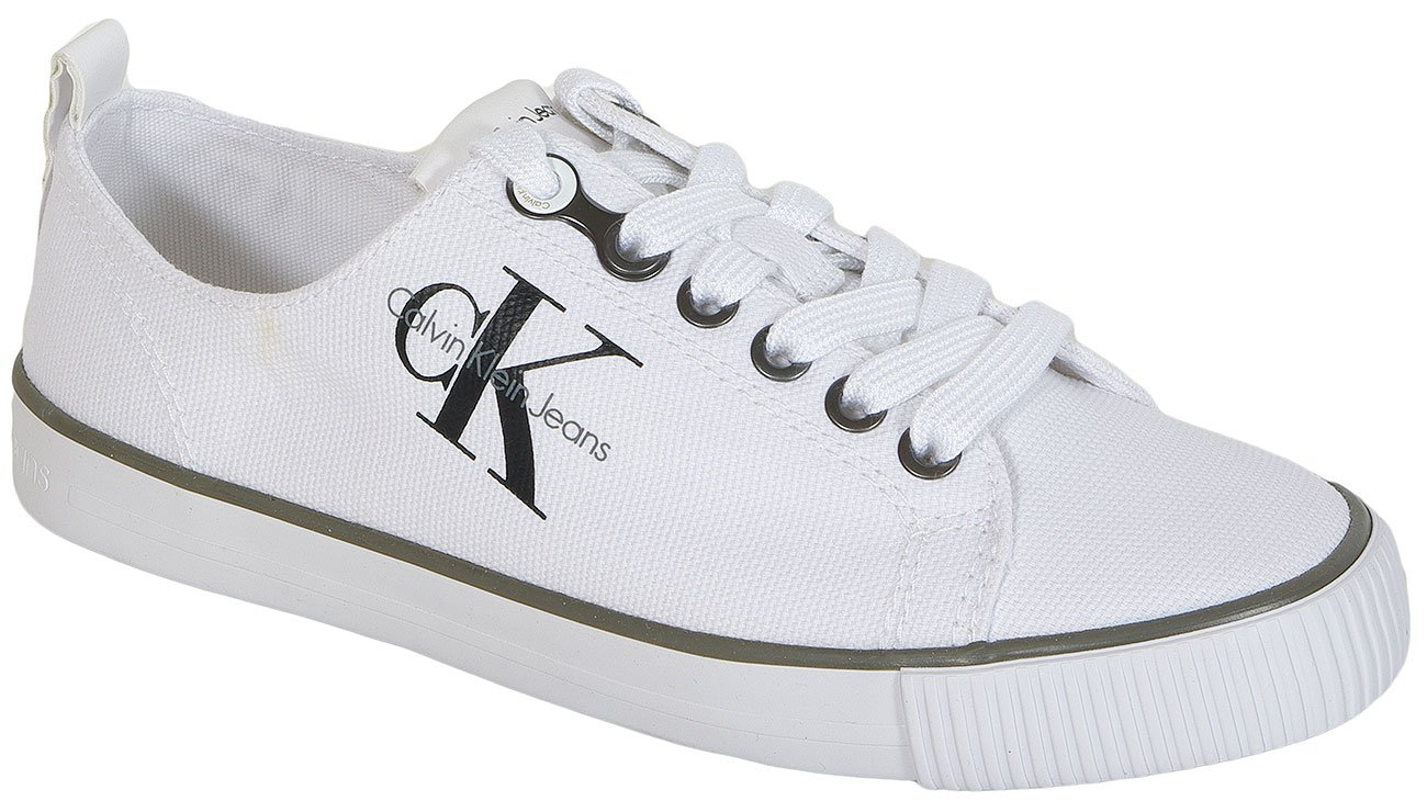 Calvin Klein Jeans Dora Canvas White sneakers