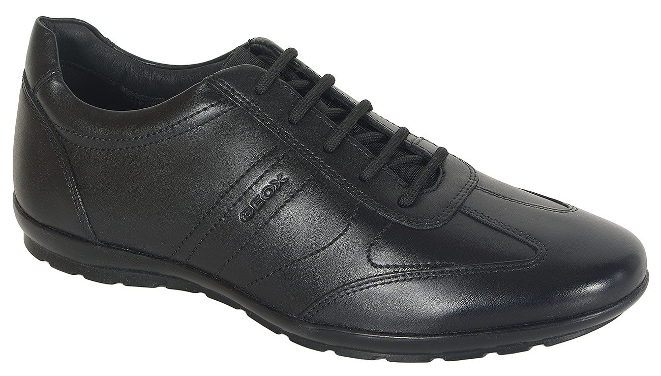 GEOX Symbol B sneakers smooth leather black