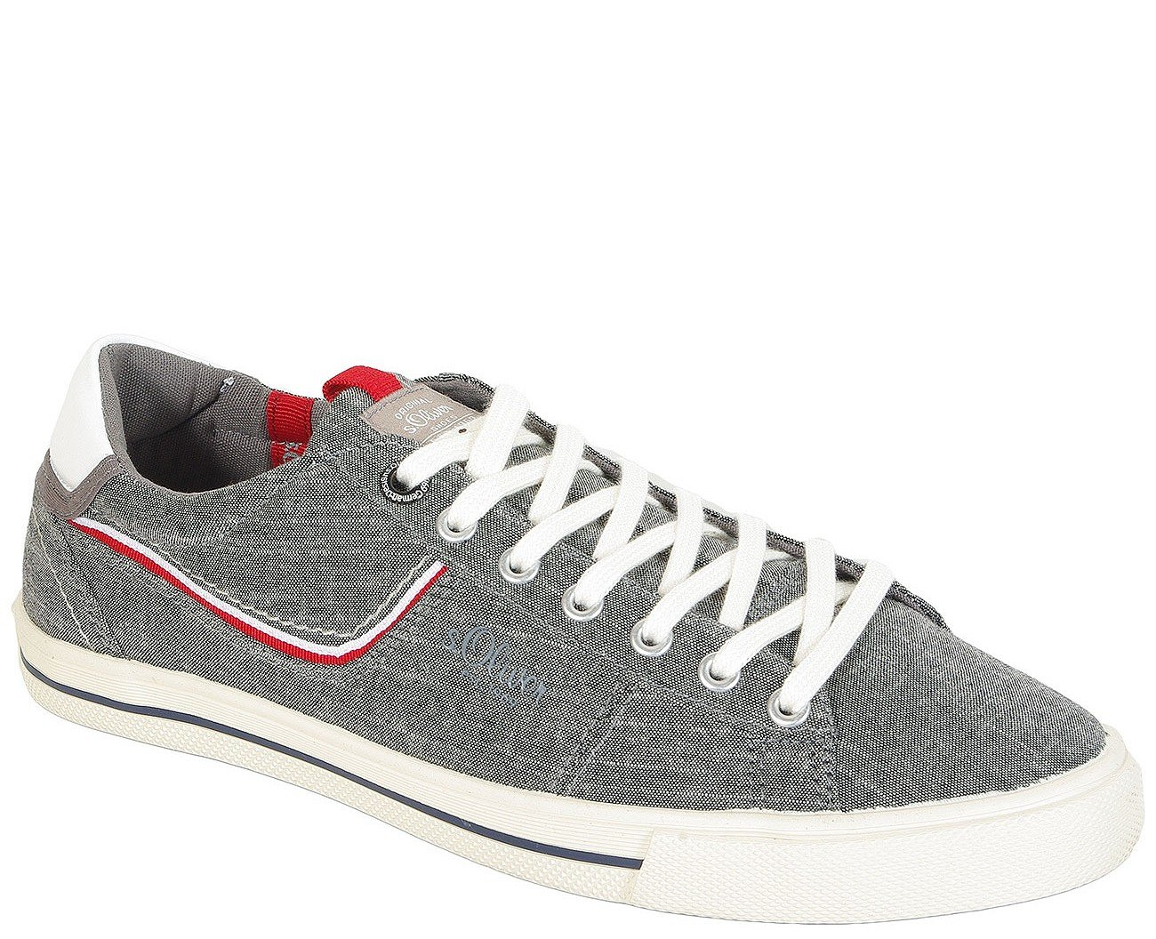 s.Oliver 13600 sneakers grey denim