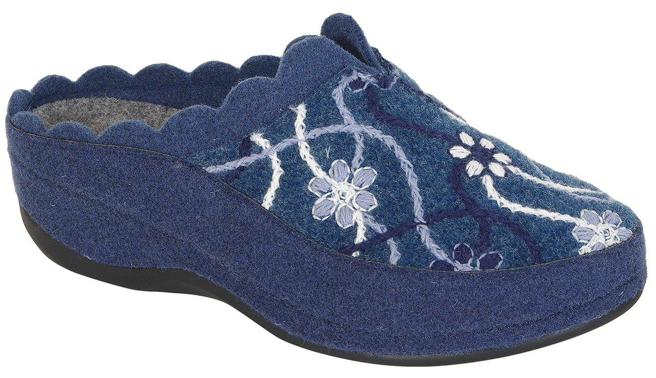 Romika Adelaide obuwie domowe blau-multi