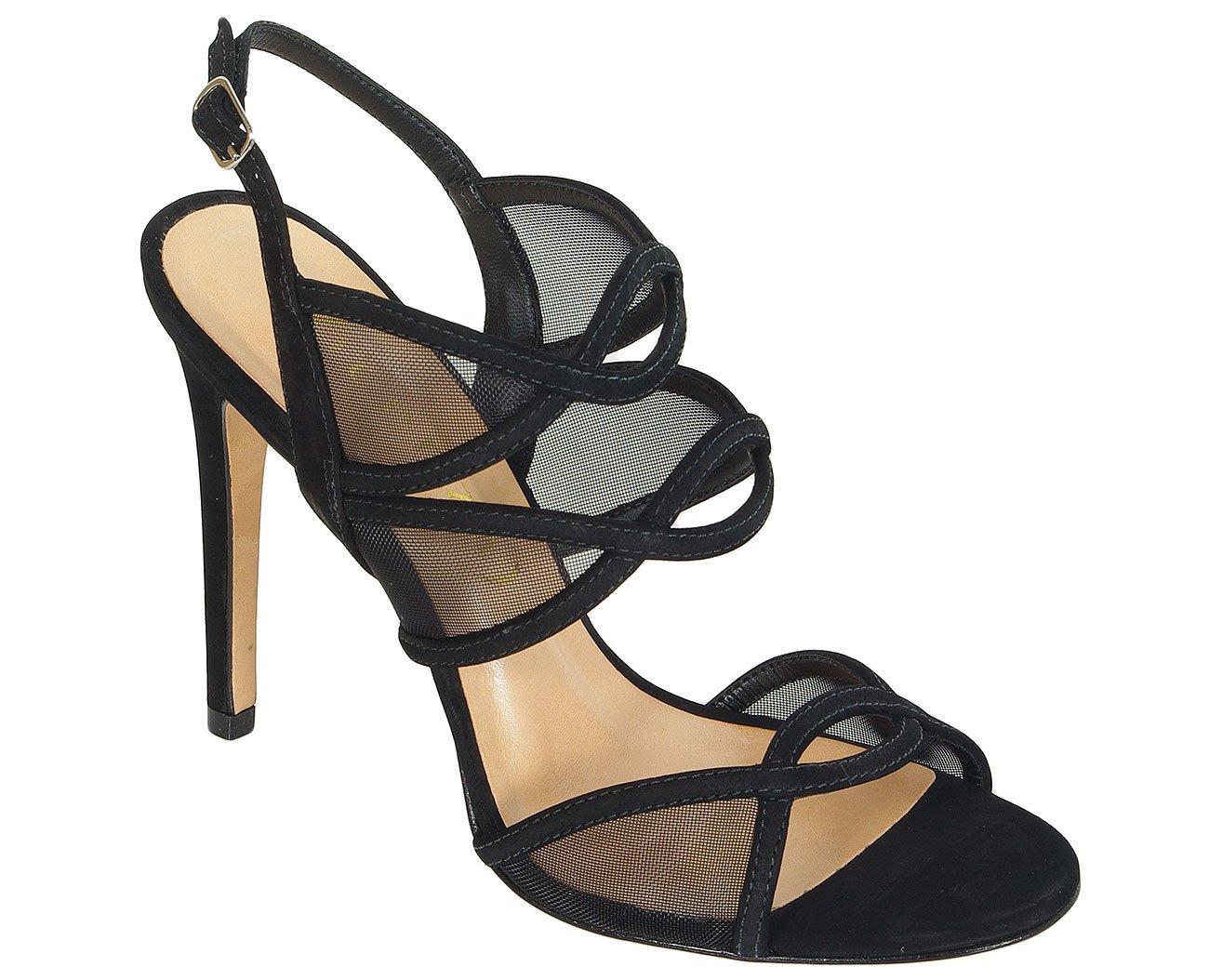 Vicenza Oriente sandały nobuck preto