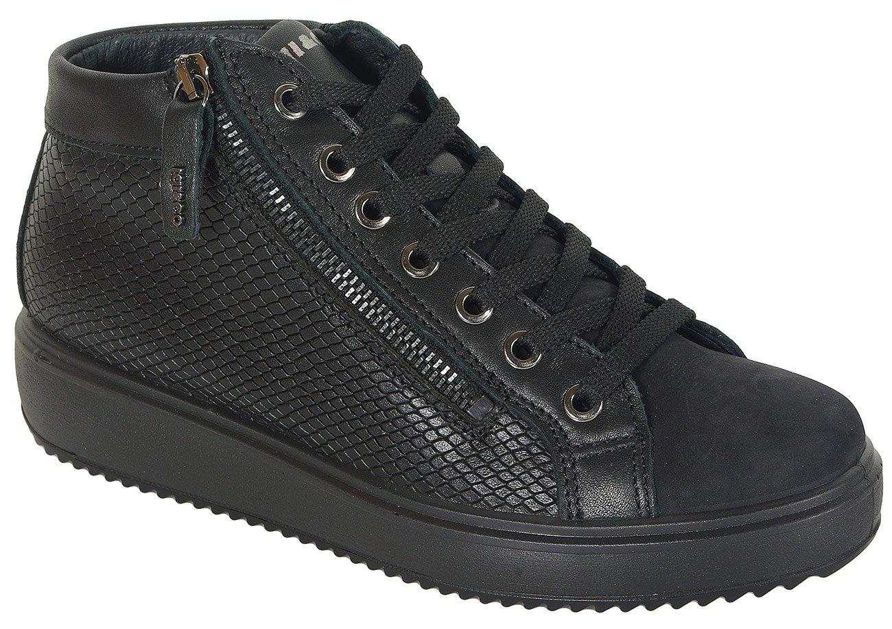 igi&co Athena sneakers napa nero