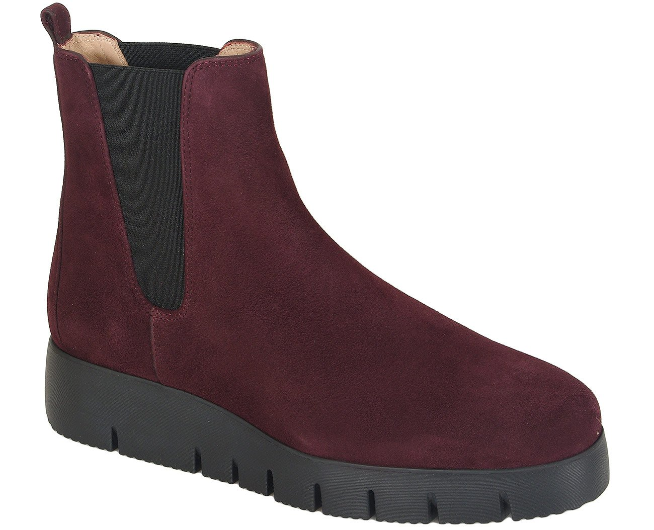 Unisa Frisa botki suede grape