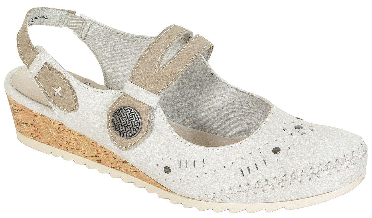 Jana 29202 sandały W.H offwhite