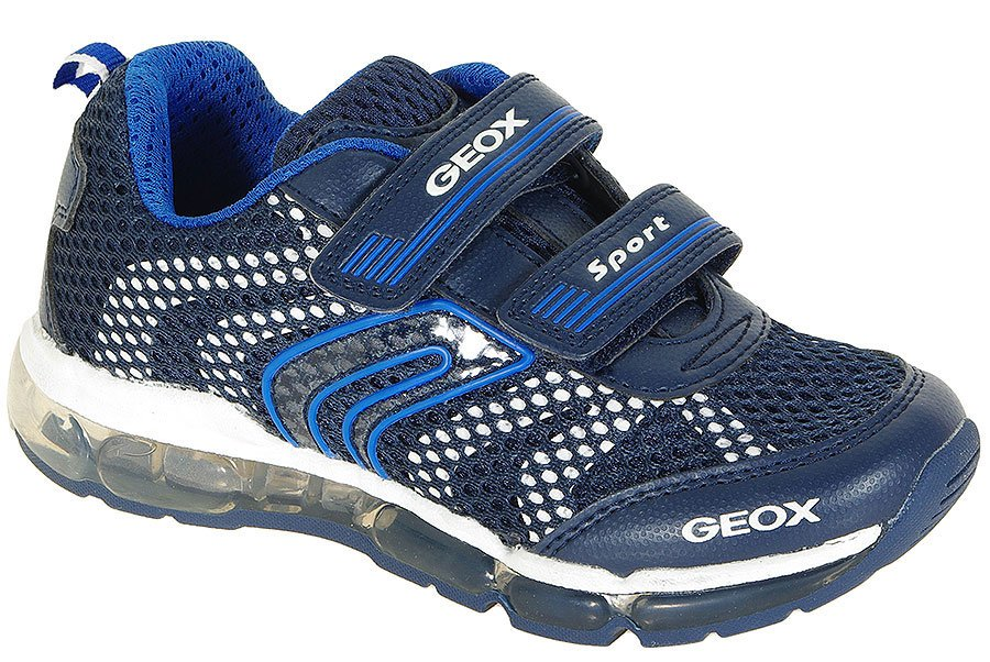 GEOX ANDROID A sneakers MESH+PRIN.DBK NAVY/WHITE