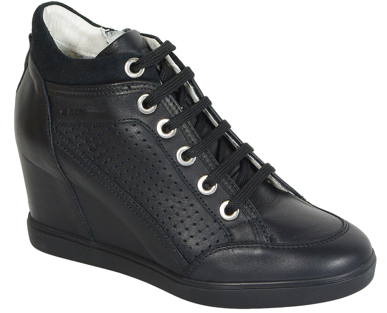 GEOX Eleni C Nappa Black sneakers