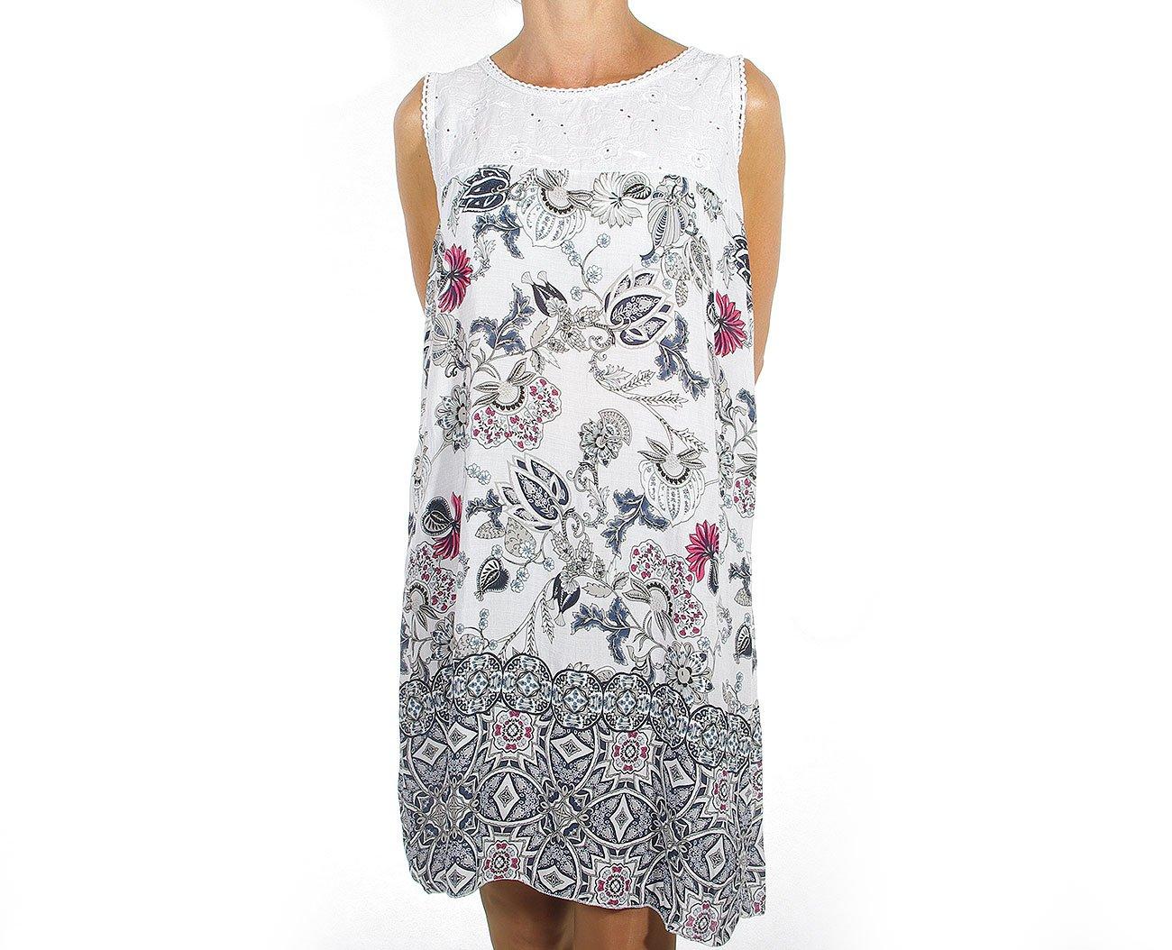 Extasy 7X509 sukienka white
