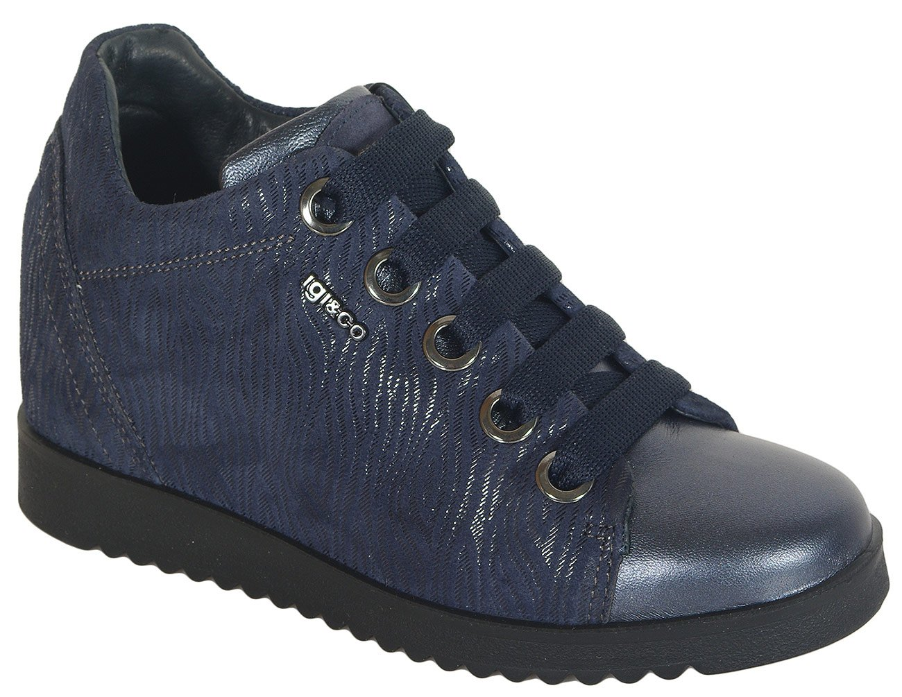 igi&co 41567 sneakers capra eyes blu