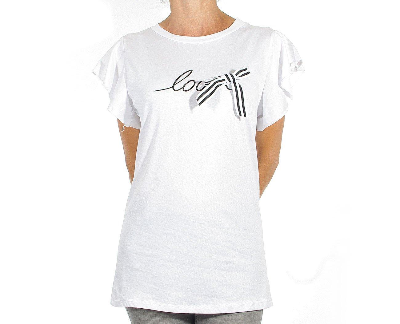 Extasy 5X908 koszulka white/black