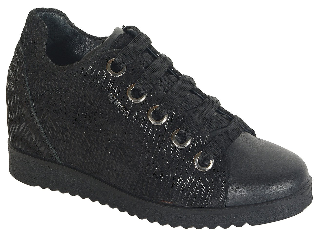 igi&co 41567 sneakers capra eyes nero