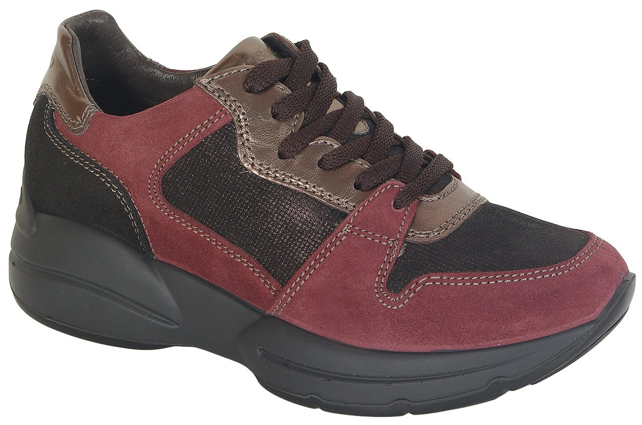 igi&co 41479 sneakers capra red/t.mor