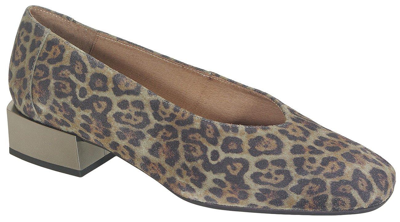 Wonders 5801 czółenka serval green