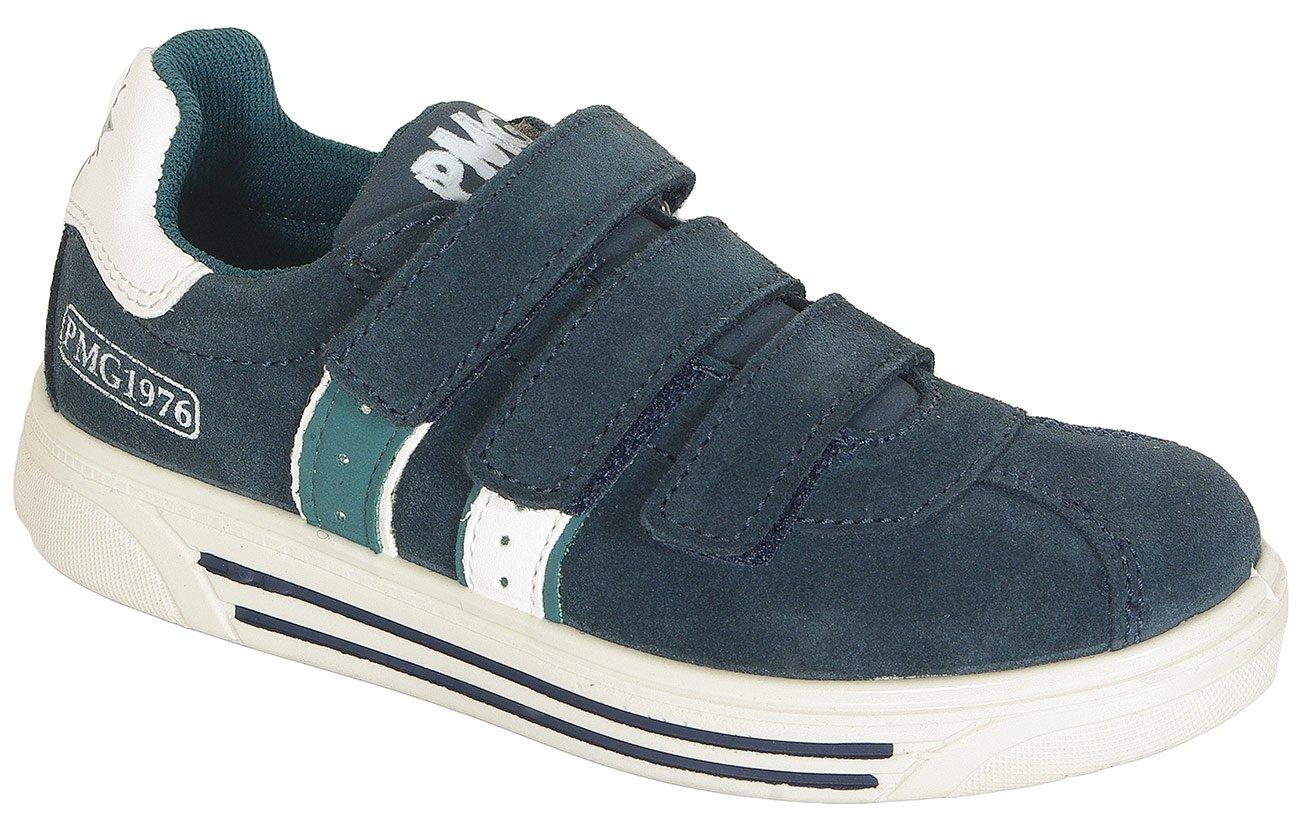 Pimigi 43753 sneakers scamosciato navy