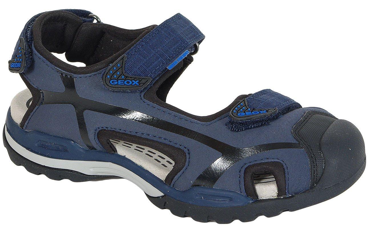 GEOX Borealis B Navy/Black sandały