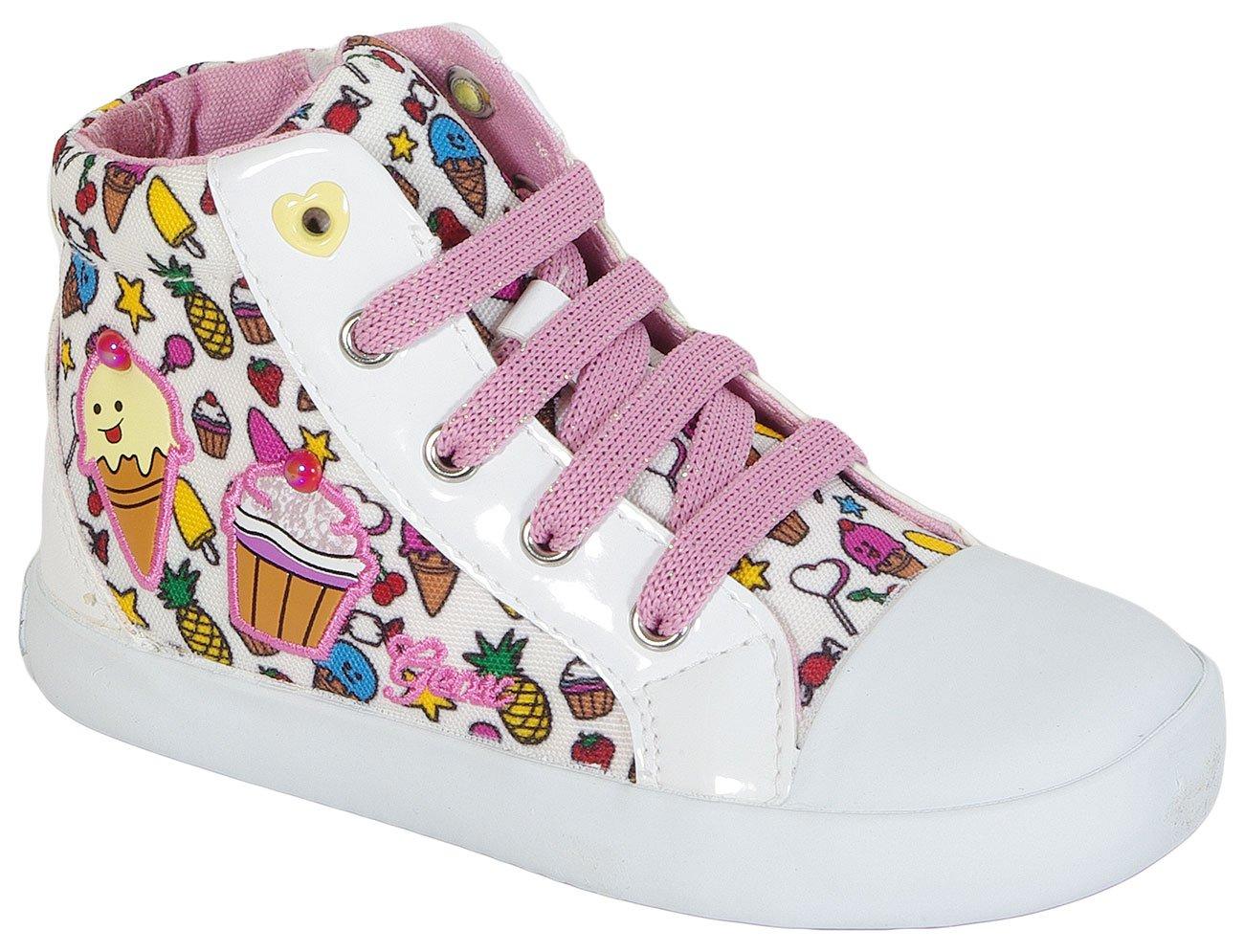 GEOX Kiwi G F T White/Multi sneakers