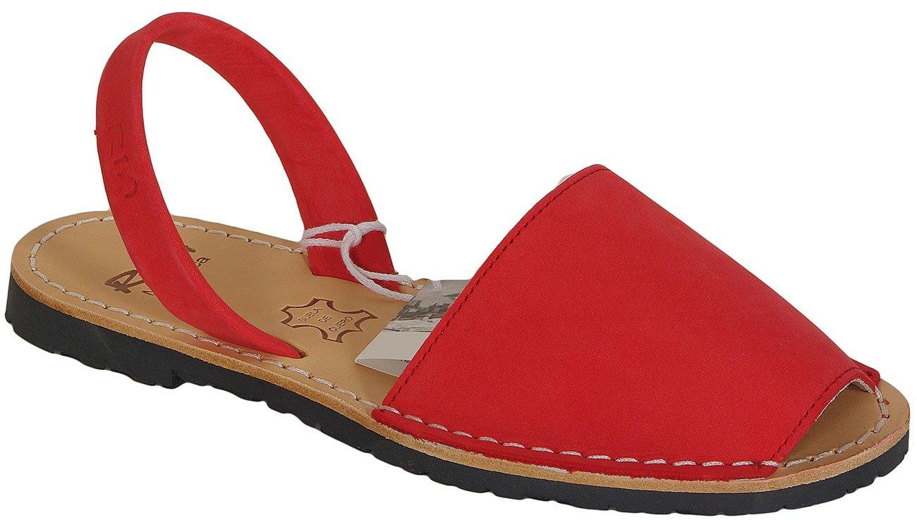 Ria Menorca Basic sandały nubuck rojo