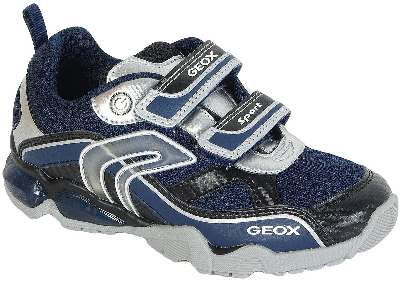 GEOX Eclipse Lt 2 Navy/Silver sneakers