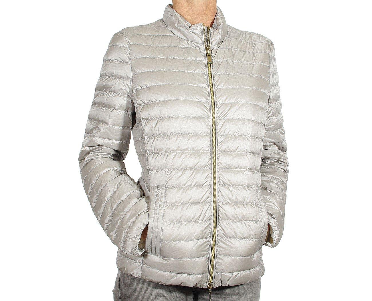 GEOX w8225b kurtka woman jacket sleet grey/blanc