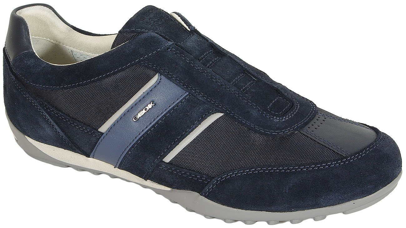 GEOX Wells A sneakers tex+suede navy