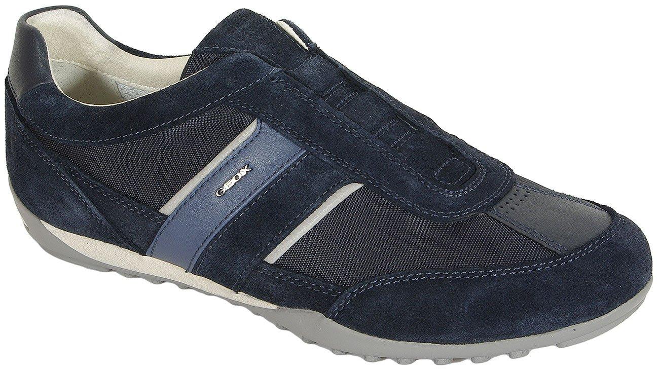 GEOX Wells A sneakers tex+suede navy