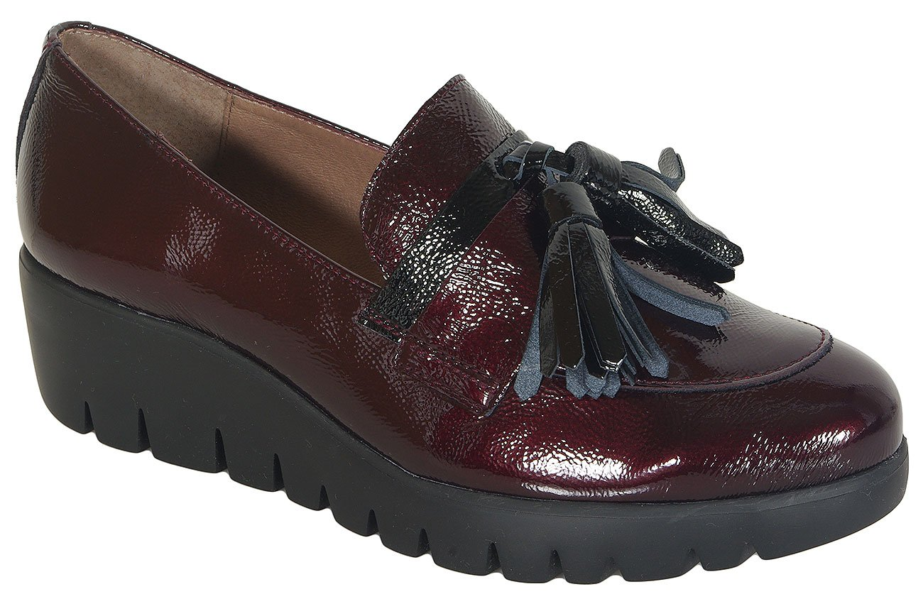 Wonders 33174 loafers lack vino