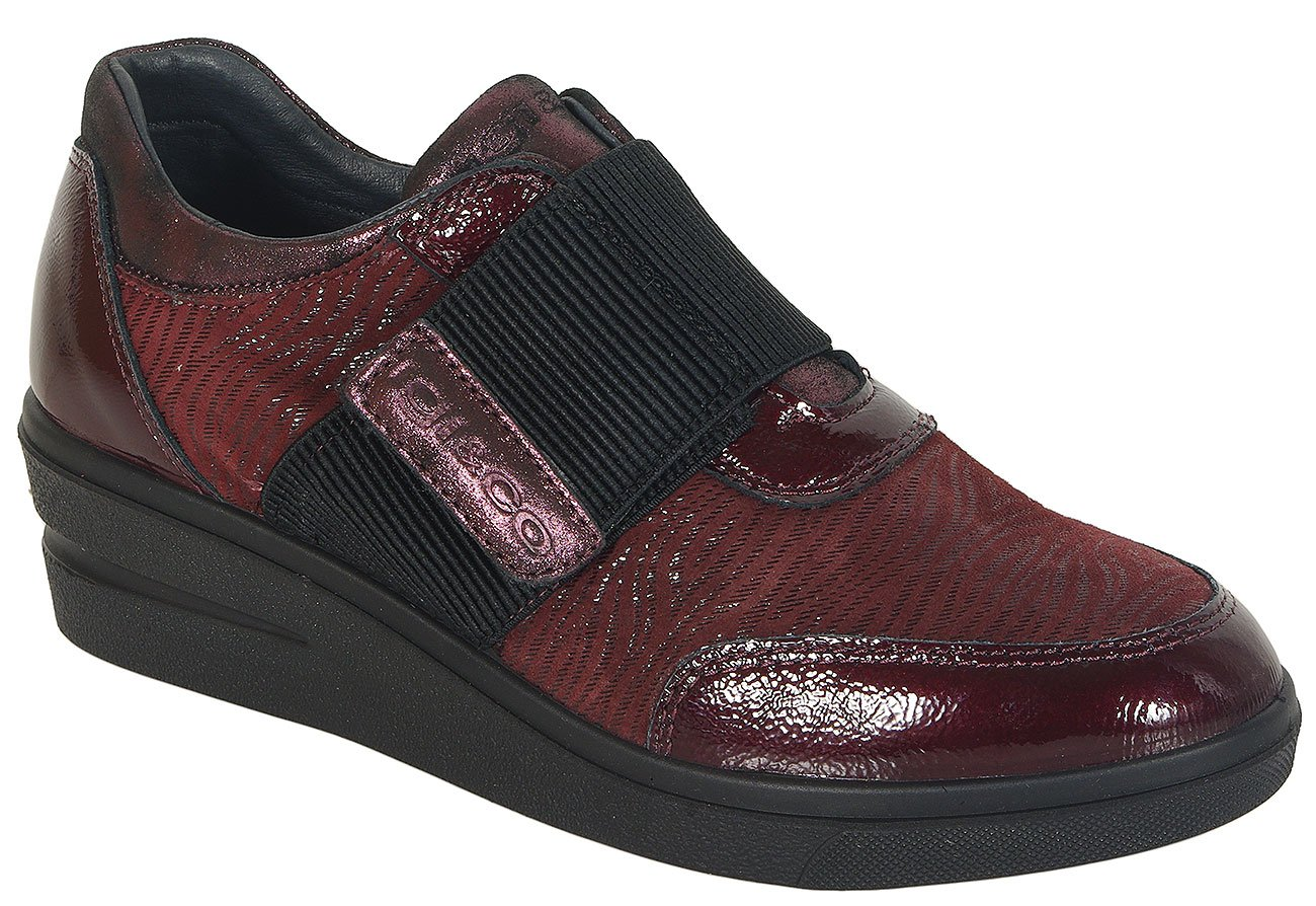 igi&co 41401 sneakers capra eyes bordo