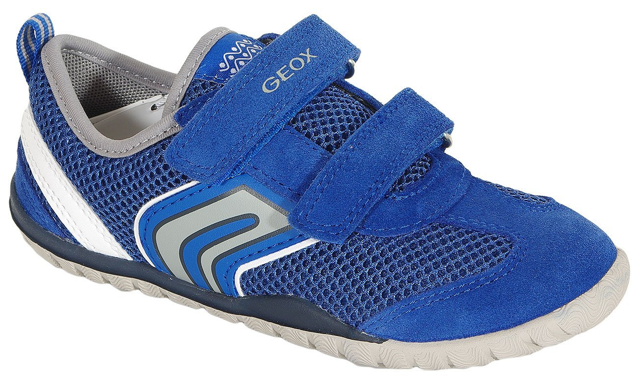 GEOX Trifon B sneakers mesh+suede royal/white