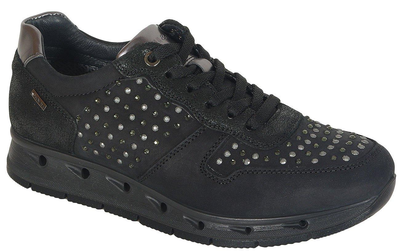 igi&co 41504 sneakers nabuk morbido nero