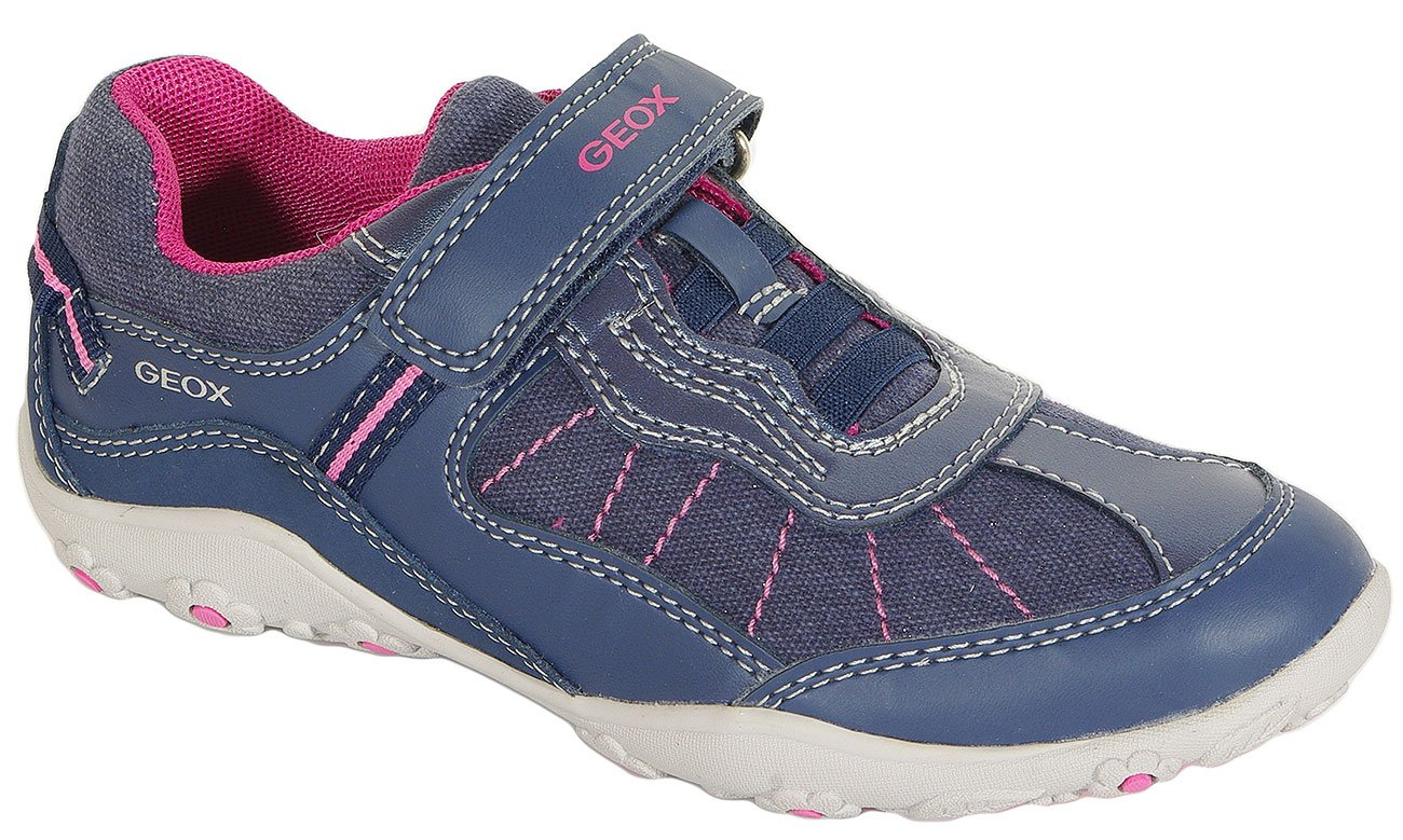 GEOX Adalyn B sneakers canvas+synt. navy/fuchsia