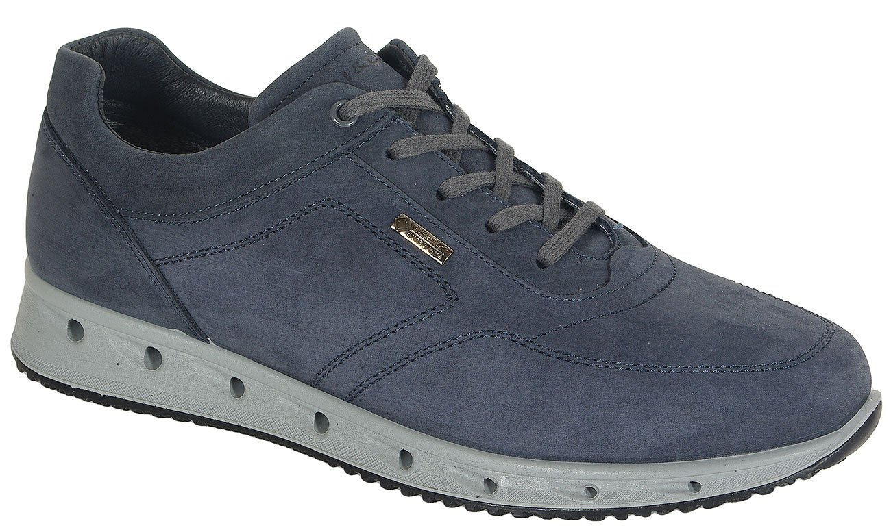 igi&co 41376 sneakers nabuk soft oil notte